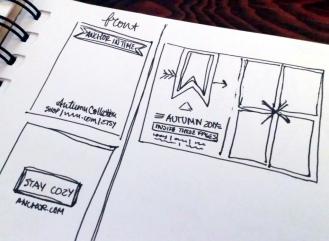 lookbook sketches